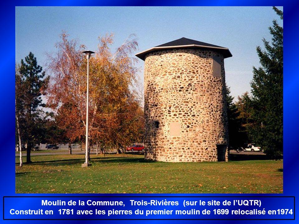 Moulin de la Commune, Trois-Rivières (sur le site de l'UQTR)