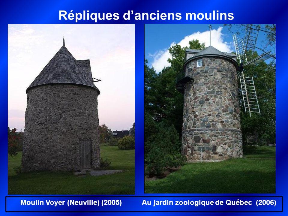 Répliques d'anciens moulins