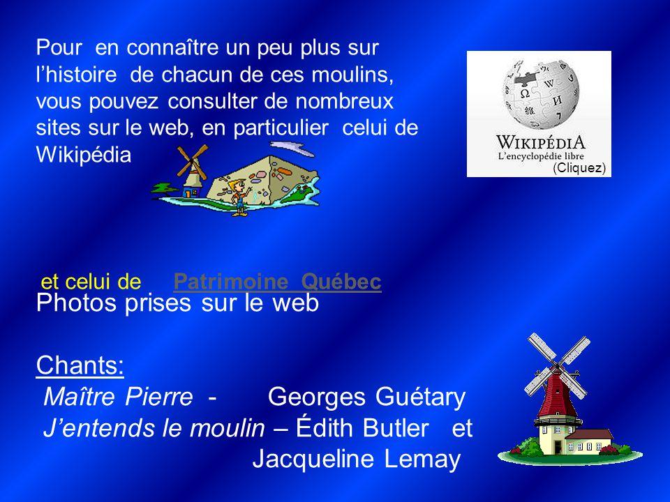 Photos prises sur le web Chants: Maître Pierre - Georges Guétary