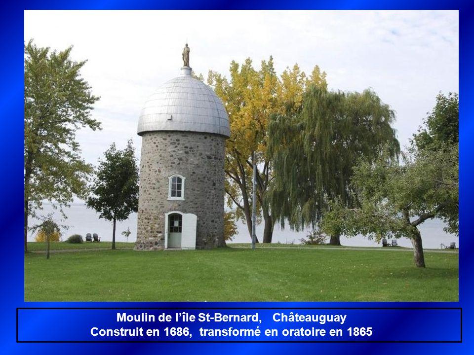 Moulin de l'île St-Bernard, Châteauguay
