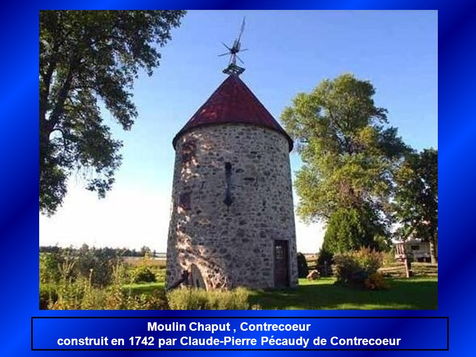Moulin Chaput , Contrecoeur