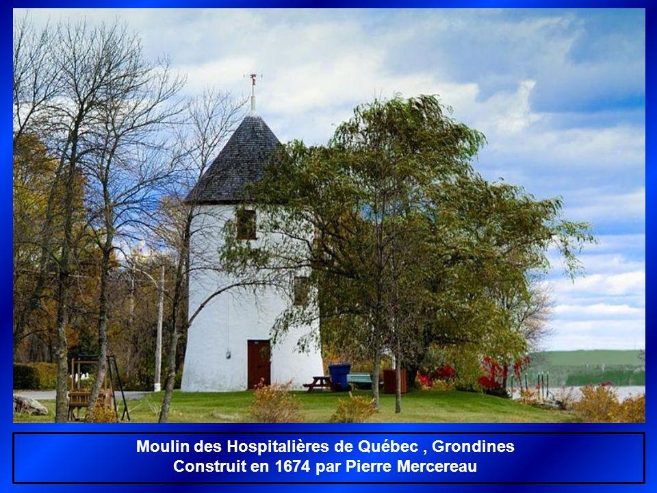 Moulin des Hospitalières de Québec , Grondines