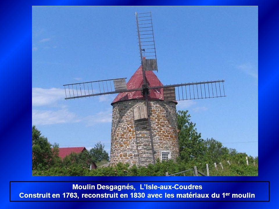 Moulin Desgagnés, L'Isle-aux-Coudres
