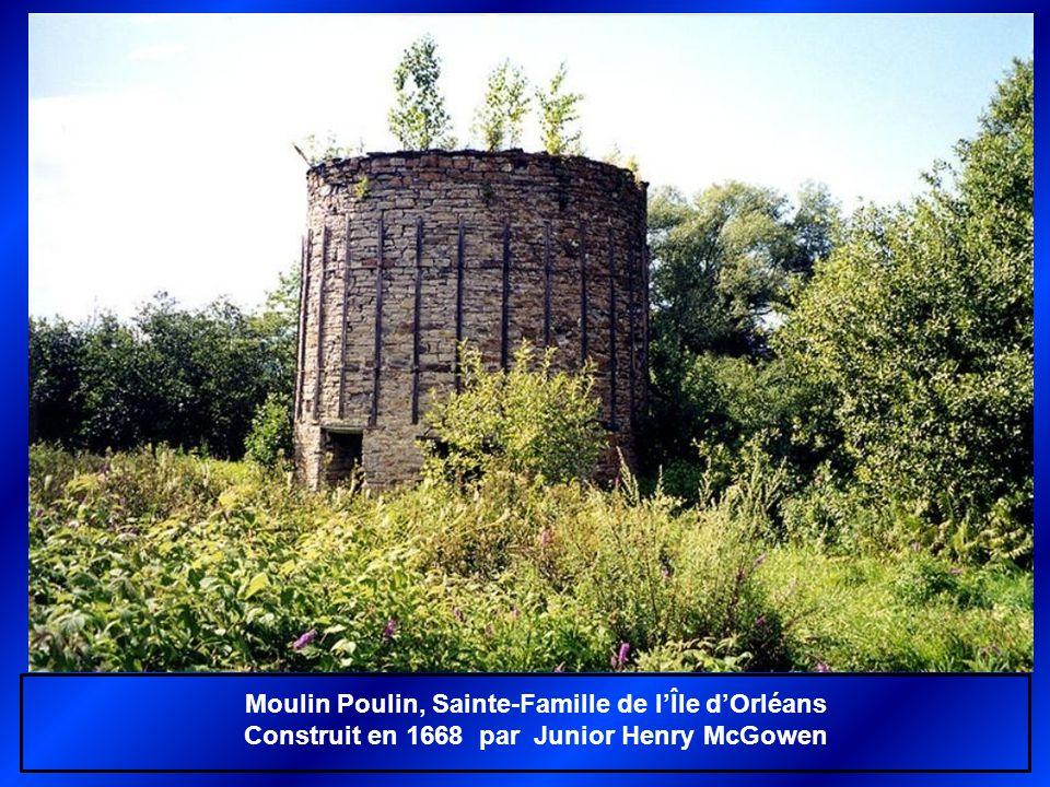 Moulin Poulin, Sainte-Famille de l'Île d'Orléans
