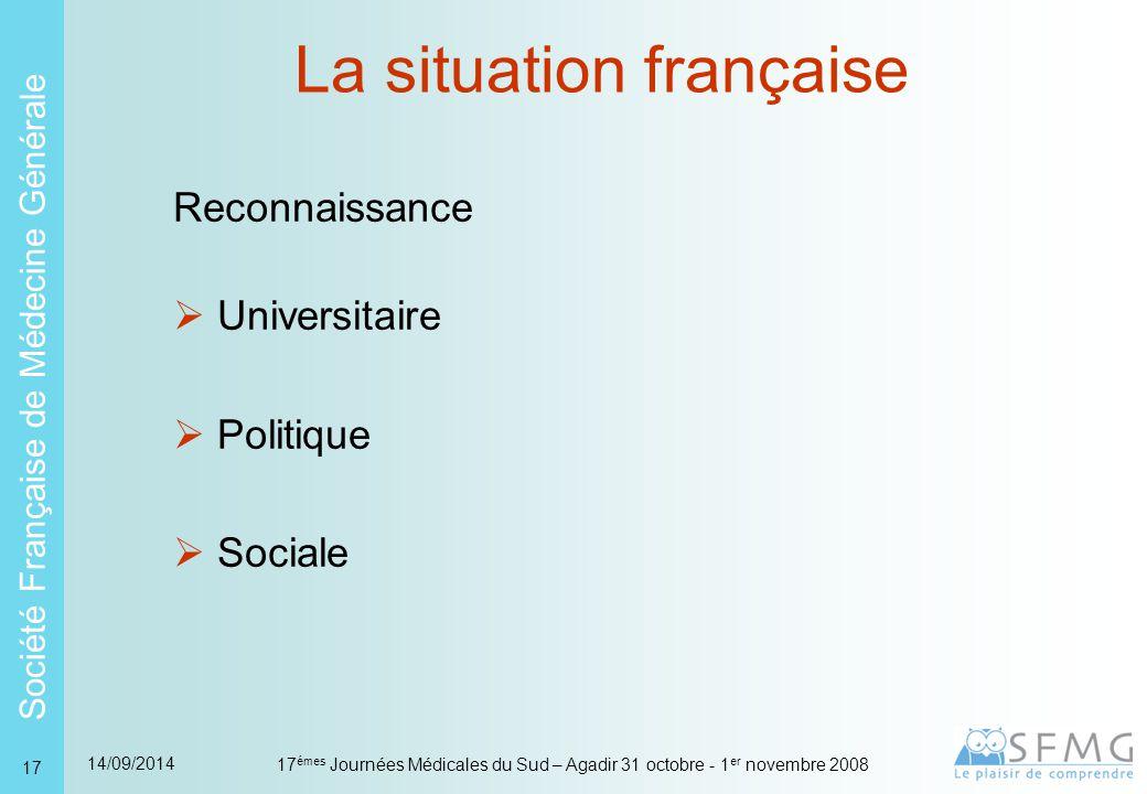 La situation Française