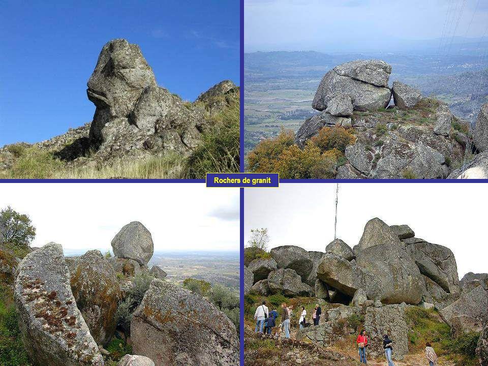 Rochers de granit