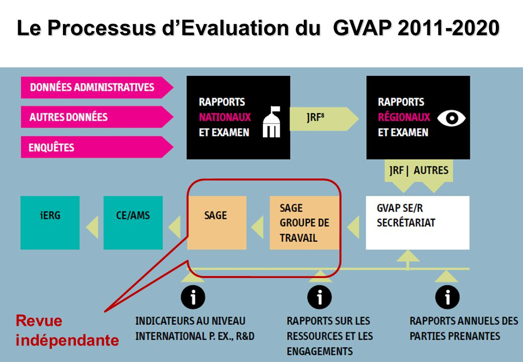 Le Processus d'Evaluation du GVAP 2011-2020