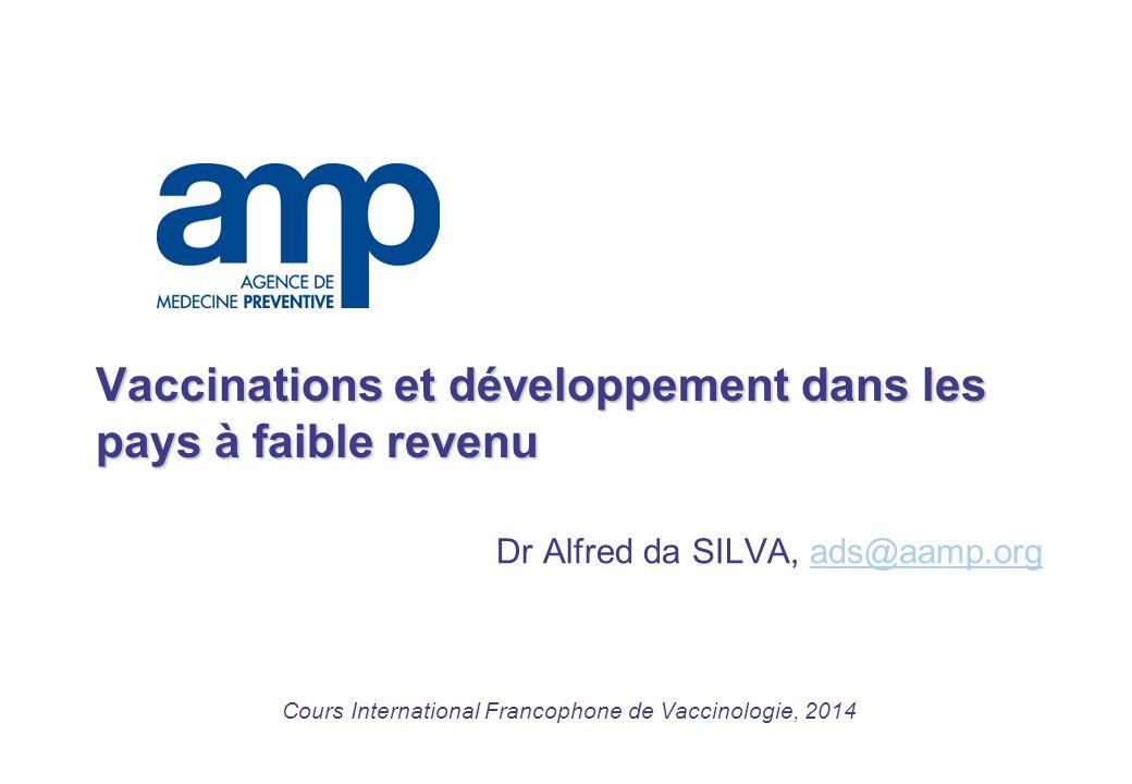 Vaccinations et développement dans les pays à faible revenu