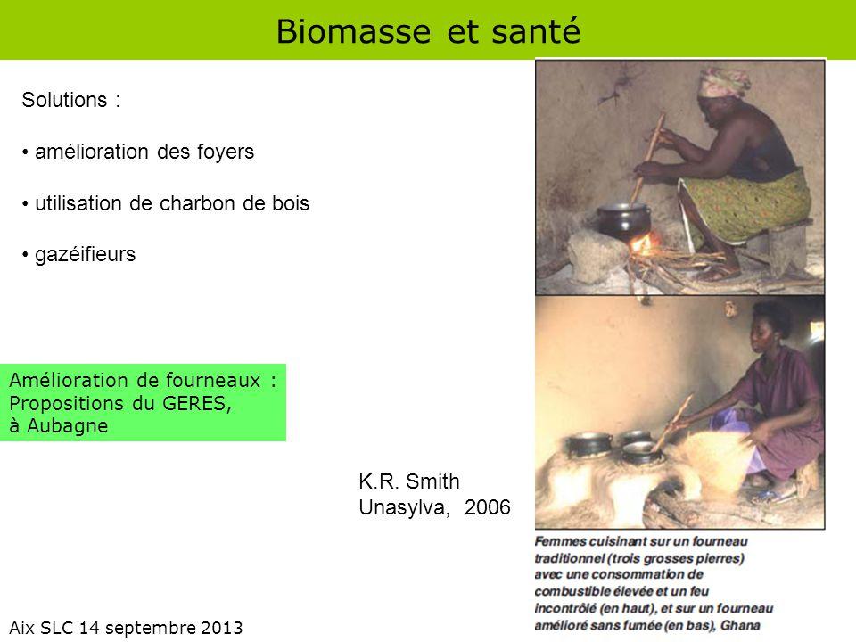 Biomasse et santé Solutions : amélioration des foyers