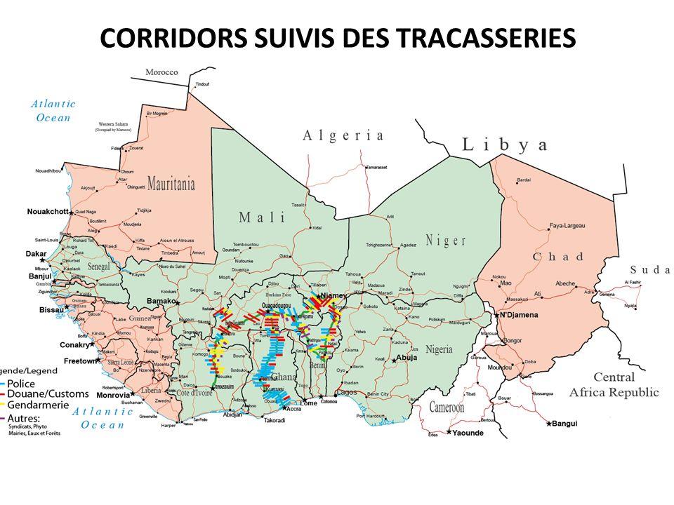 CORRIDORS SUIVIS DES TRACASSERIES