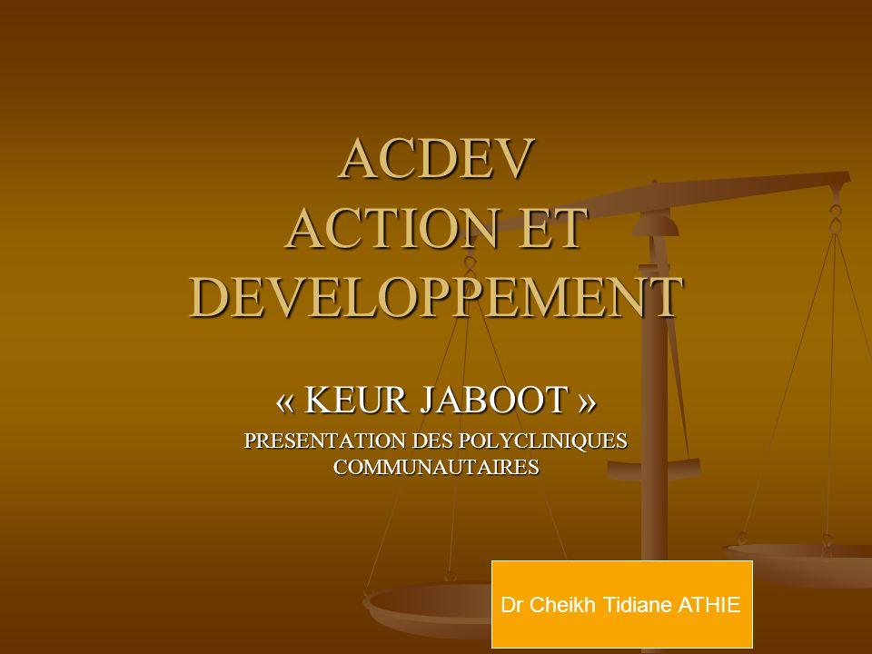ACDEV ACTION ET DEVELOPPEMENT