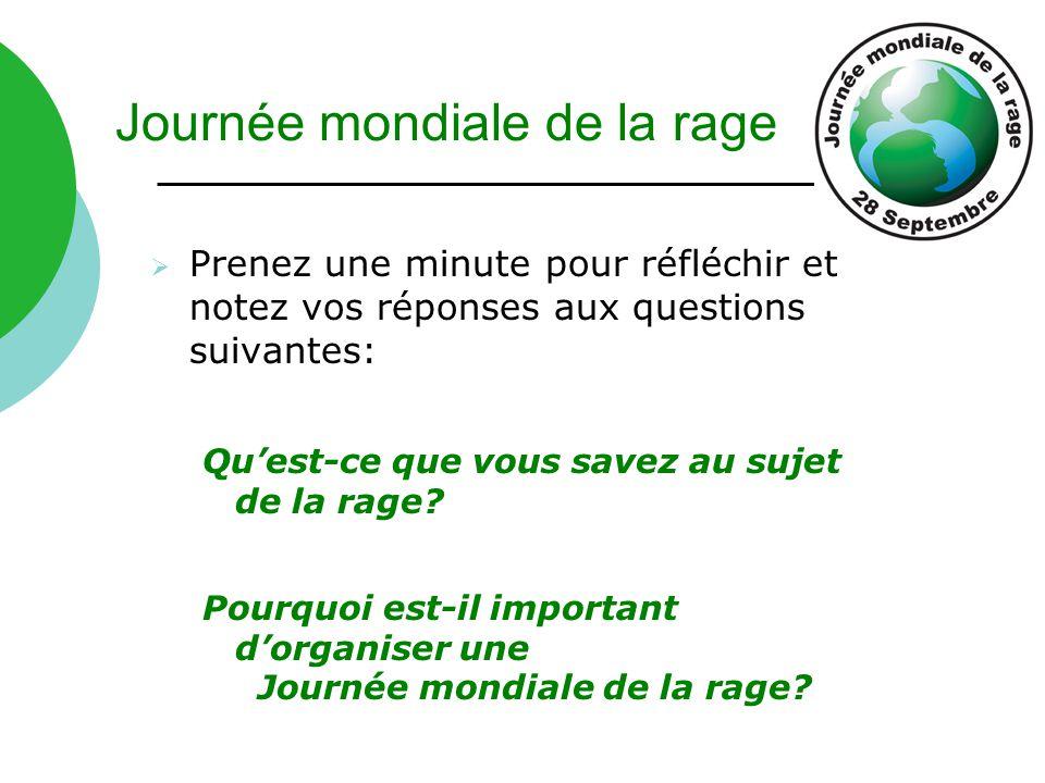 Journée mondiale de la rage