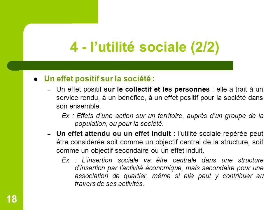 4 - l'utilité sociale (2/2)