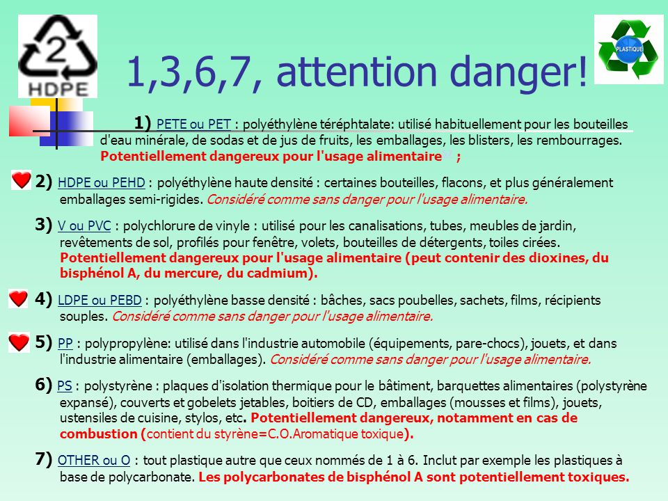 1,3,6,7, attention danger!