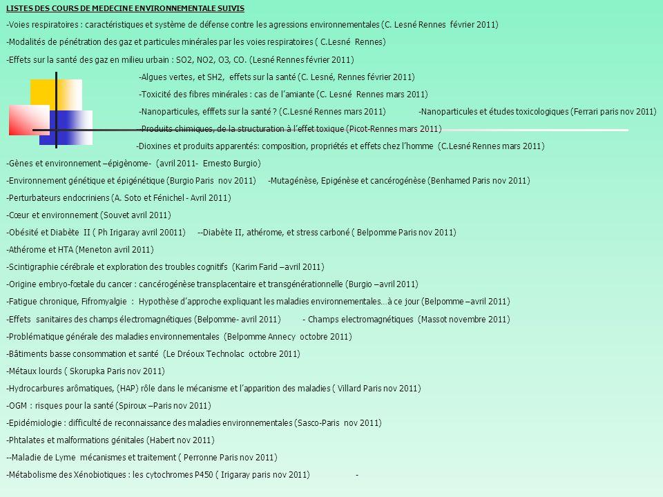 -Gènes et environnement –épigènome- (avril 2011- Ernesto Burgio)