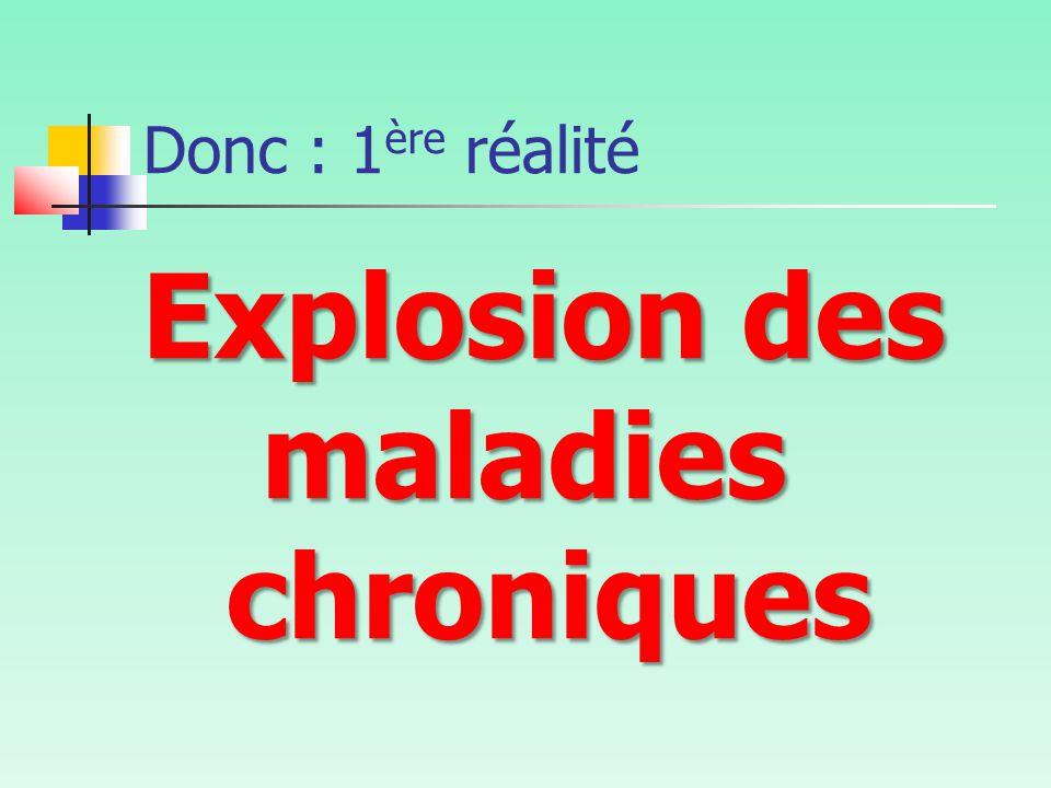 Explosion des maladies chroniques