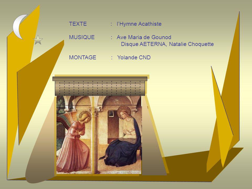 TEXTE : l'Hymne Acathiste