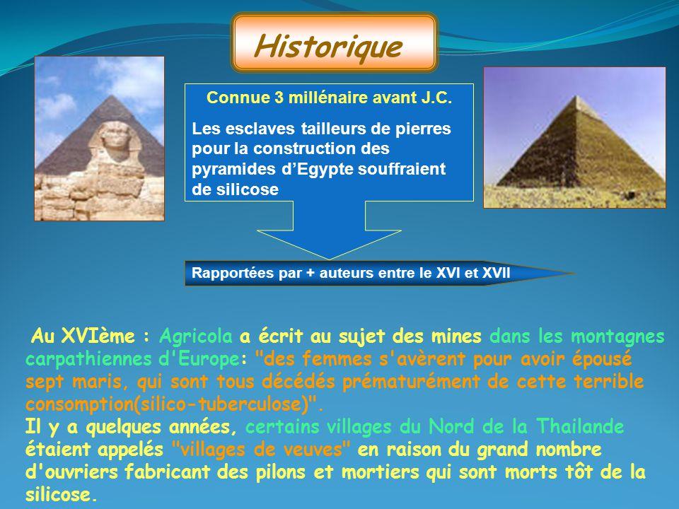 Connue 3 millénaire avant J.C.