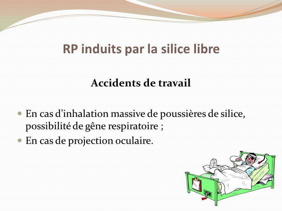 RP induits par la silice libre