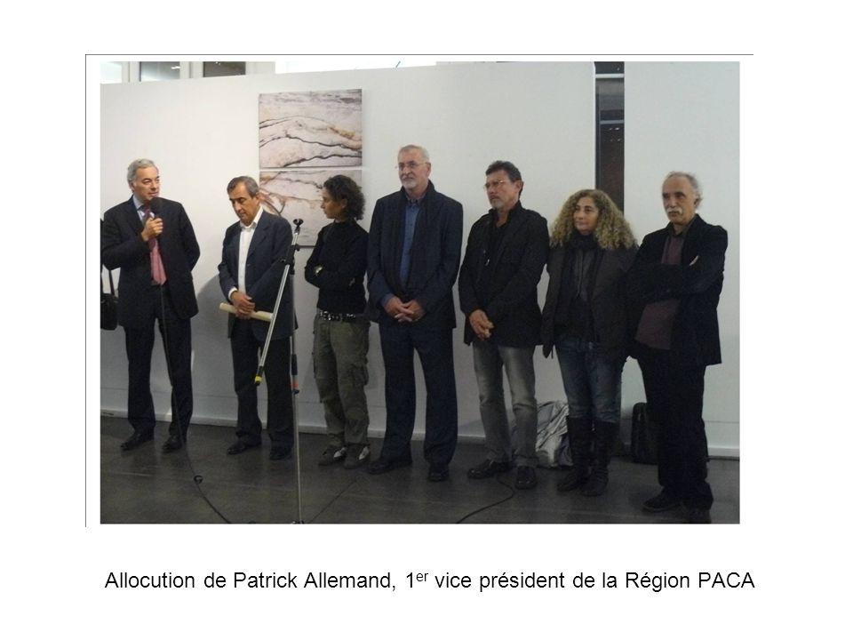 Allocution de Patrick Allemand, 1er vice président de la Région PACA