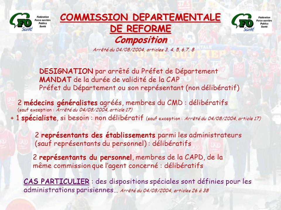COMMISSION DEPARTEMENTALE