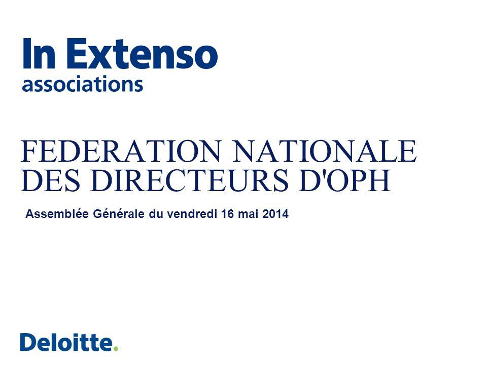 FEDERATION NATIONALE DES DIRECTEURS D OPH