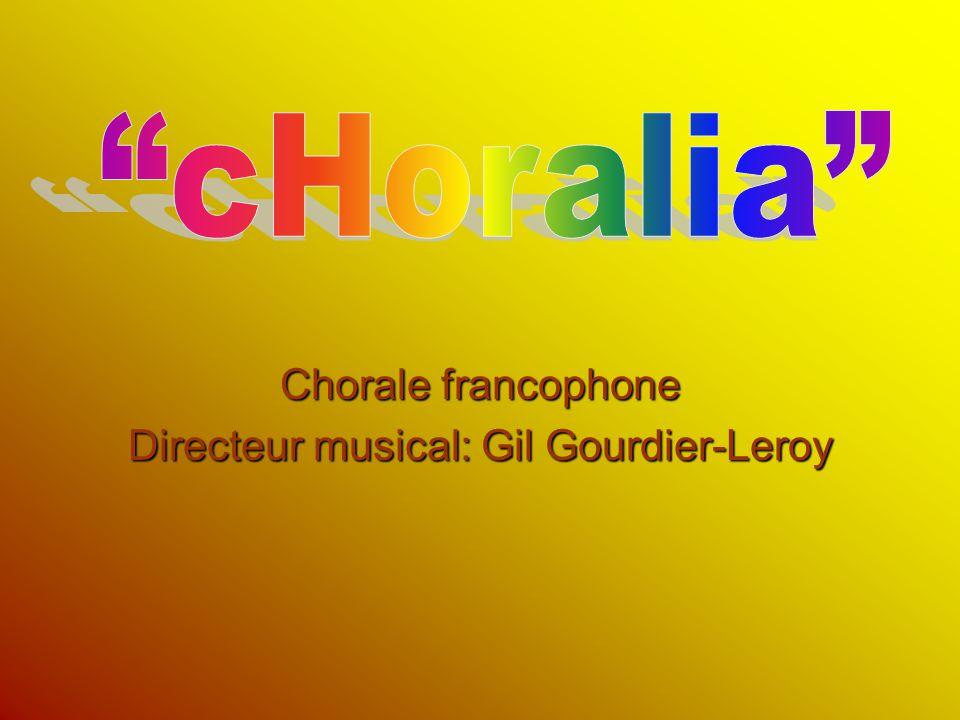 Directeur musical: Gil Gourdier-Leroy