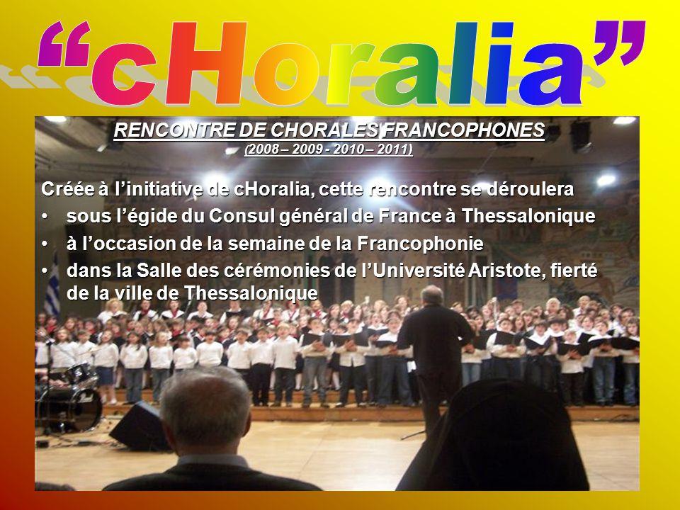 RENCONTRE DE CHORALES FRANCOPHONES
