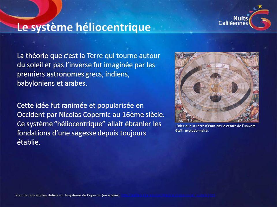 Le système héliocentrique