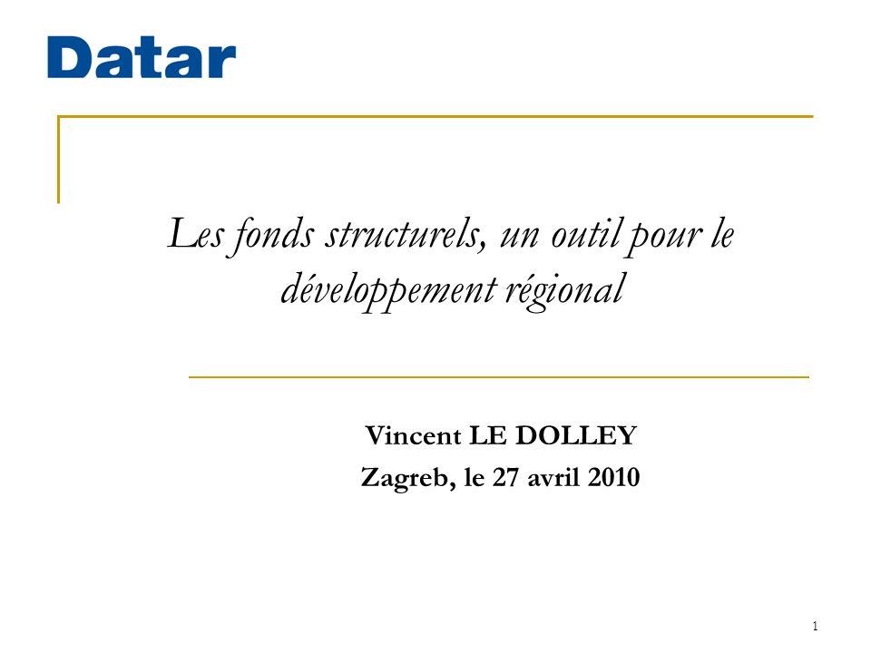 Les fonds structurels, un outil pour le développement régional