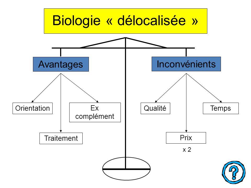 Biologie « délocalisée »