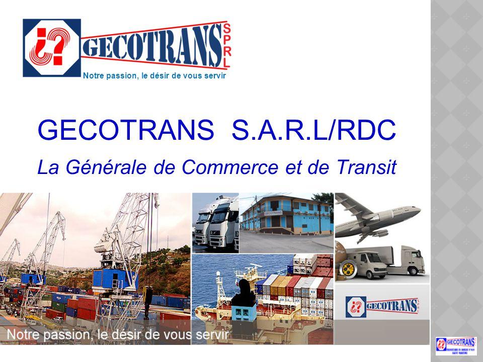 GECOTRANS S.A.R.L/RDC La Générale de Commerce et de Transit