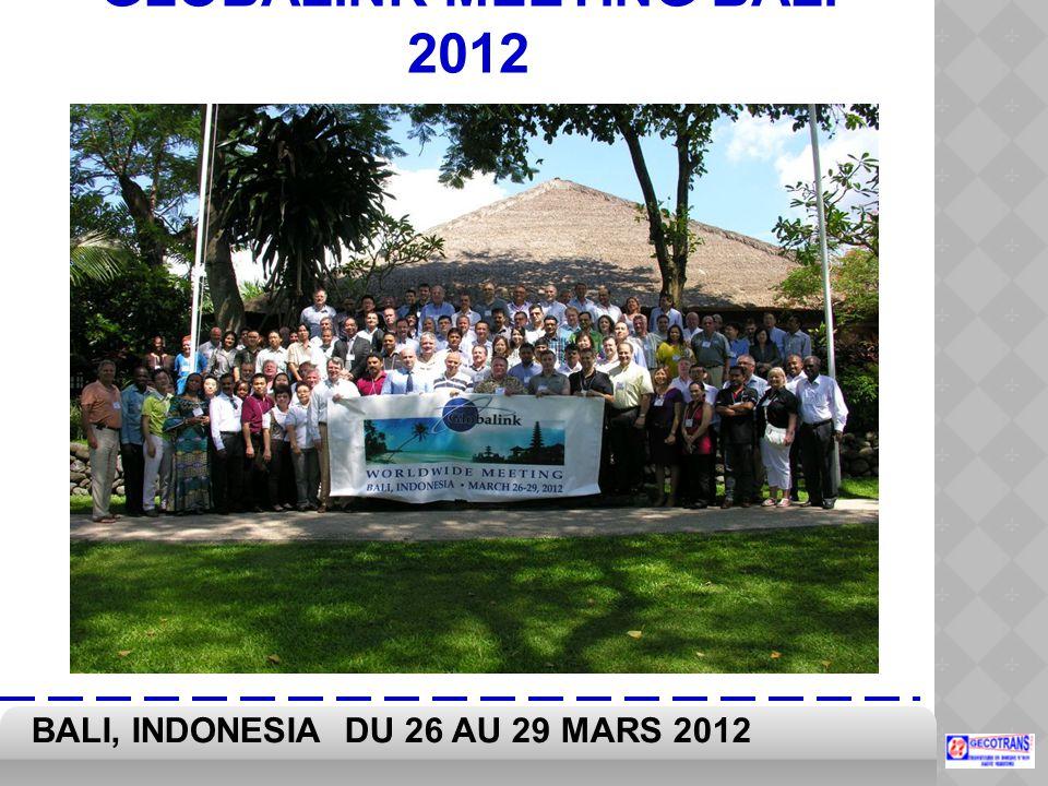 GLOBALINK MEETING BALI 2012
