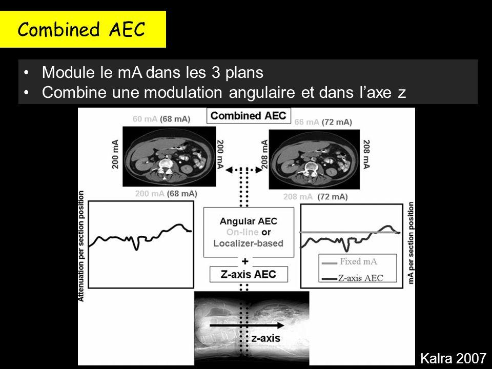 Combined AEC Module le mA dans les 3 plans
