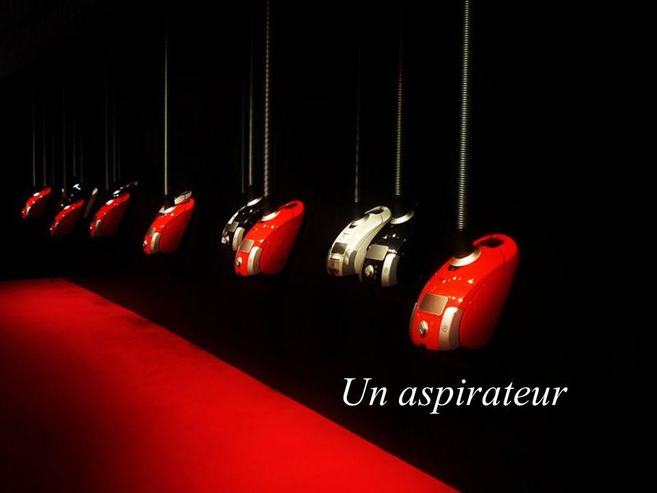 Un aspirateur