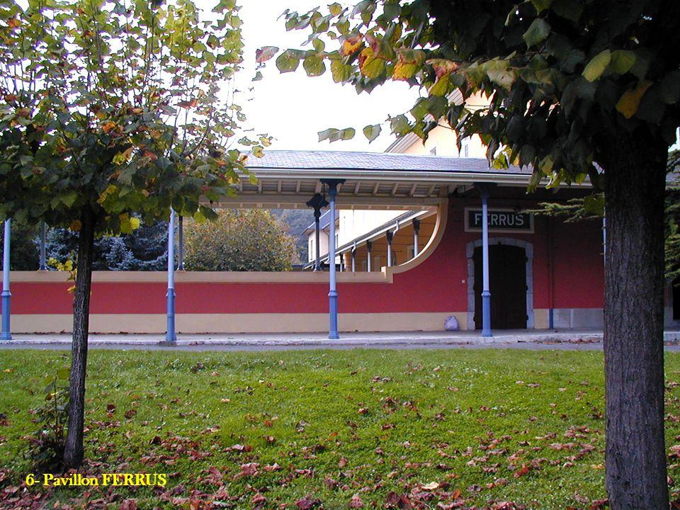 6- Pavillon FERRUS 8- Le GRETA