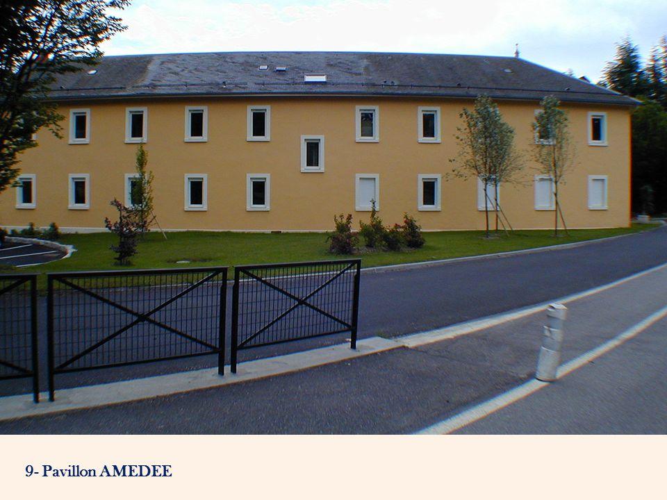 9- Pavillon AMEDEE