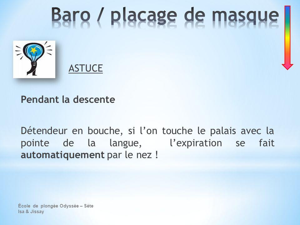 Baro / placage de masque
