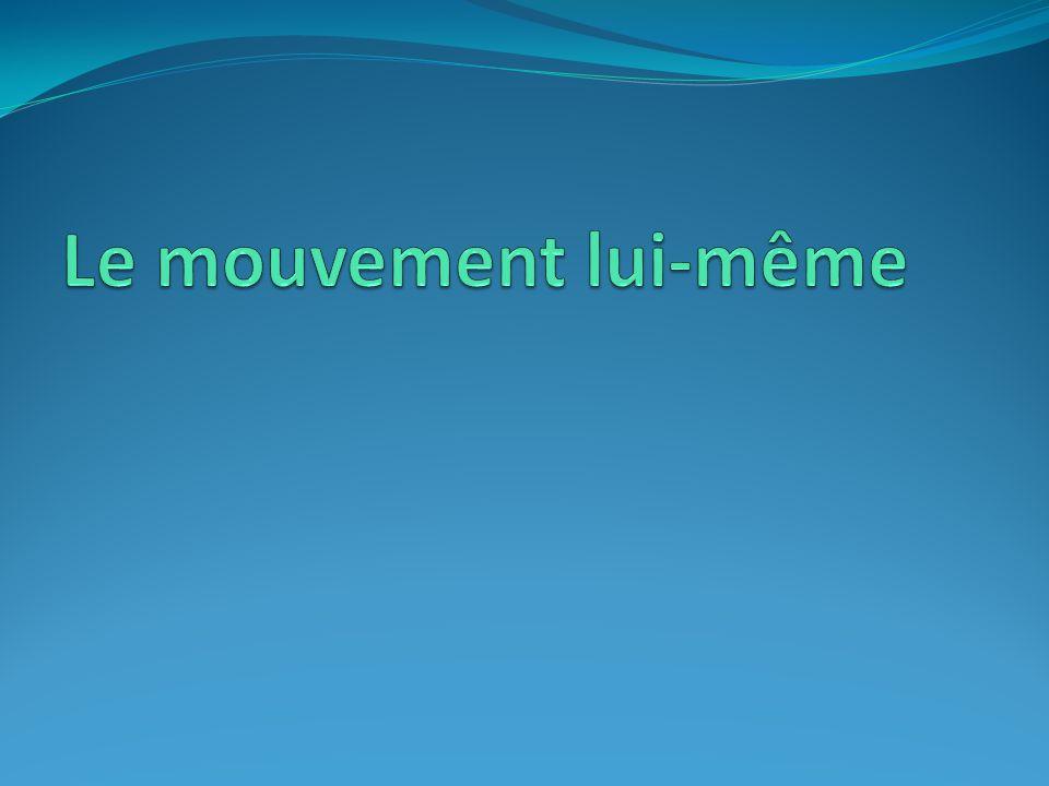 Le mouvement lui-même