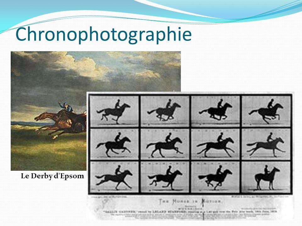 Chronophotographie Le Derby d Epsom
