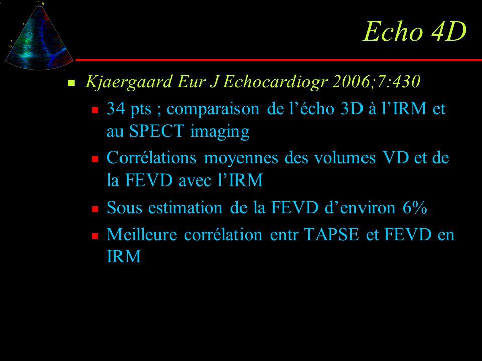Echo 4D Kjaergaard Eur J Echocardiogr 2006;7:430