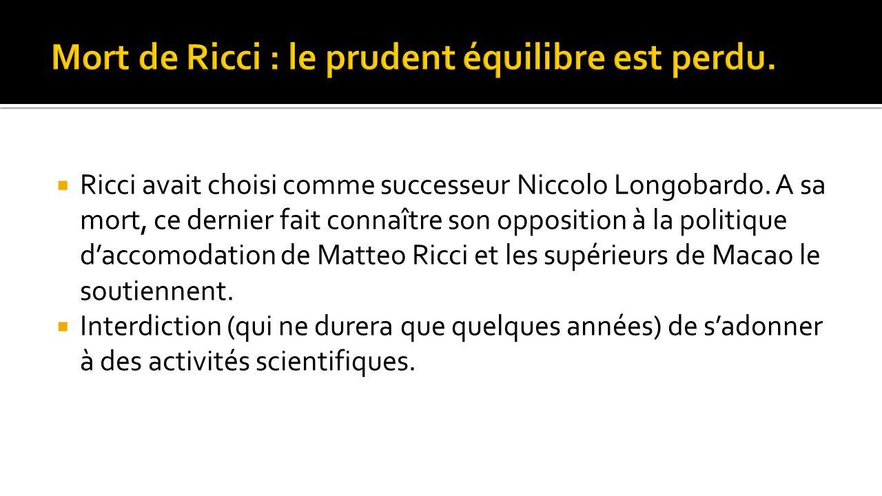 Mort de Ricci : le prudent équilibre est perdu.