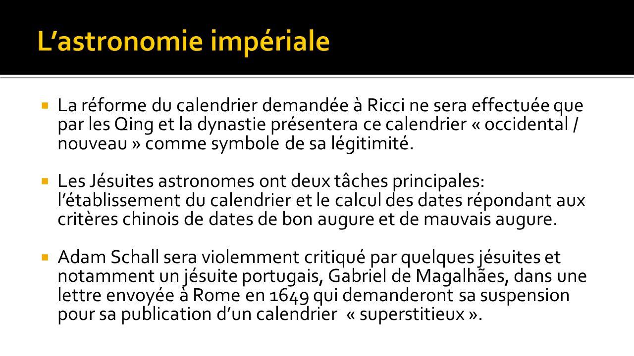 L'astronomie impériale