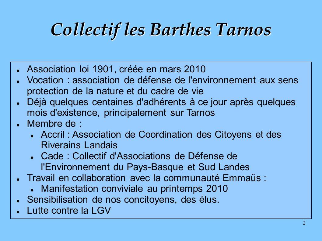 Collectif les Barthes Tarnos