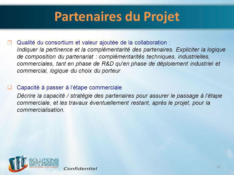 4/6/2017 Partenaires du Projet.