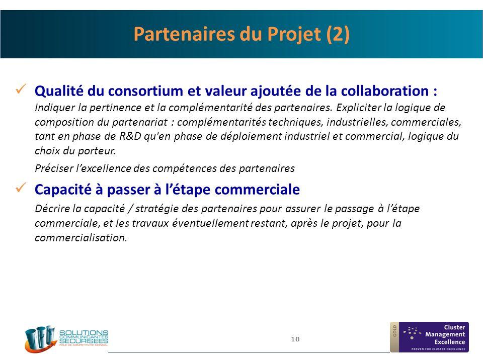 Partenaires du Projet (2)