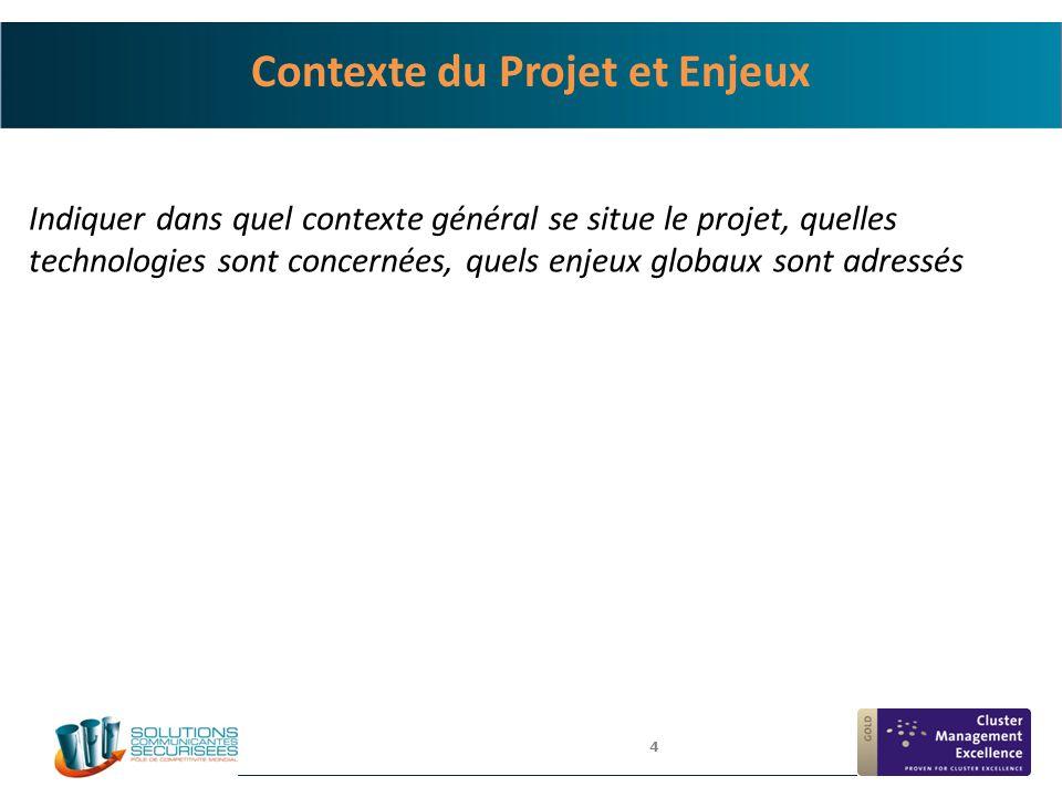 Contexte du Projet et Enjeux