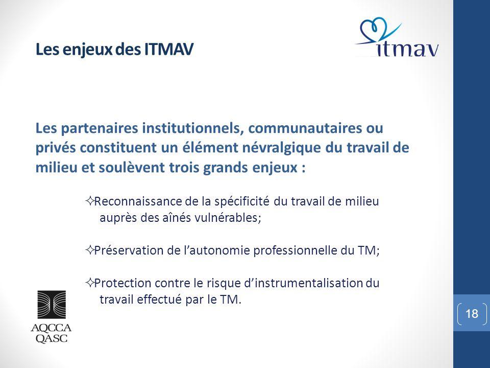 Les enjeux des ITMAV
