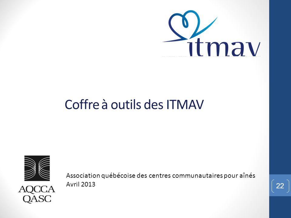 Coffre à outils des ITMAV