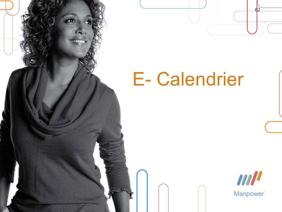 E- Calendrier